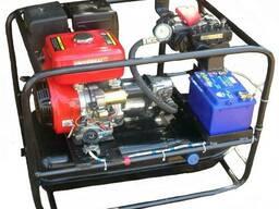Автономная гидростанция к установке для прокола