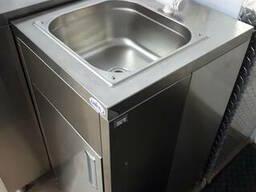 Автономный рукомойник с баком для нагрева воды
