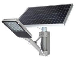 Автономный уличный светильник на 30 Вт с датчиком движения