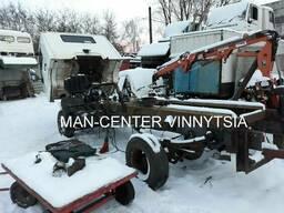 Авторазборка грузовых автомобилей МАN Euro3 Le220 284 220 8.180 Le 8.160 Le 8.145