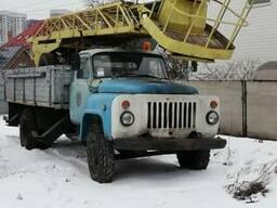 Автовышка АП-17 и ТВГ-16 база ГАЗ-53.