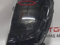 Автозапчасти. фара противотуманная левая (пустая) с поврежде