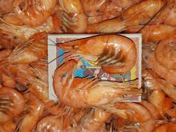 Азовская креветка крупная (Кабан) с икрой