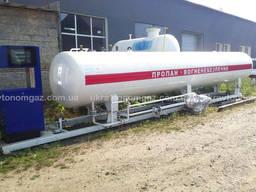 АЗС газ, LPG модуль 9,5 м3, заправки АЗС, газовые АЗС пропан