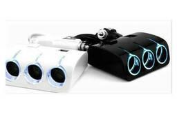 АЗУ разветвитель Weifeng, 12V-3*12V+2*USB, White, Blister