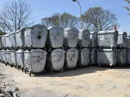 Б. у контейнеры 1100 литров евростандарта