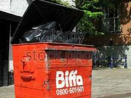 Б\У контейнеры для мусора