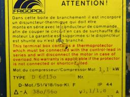 "Б/у компрессор ""Frigopol D80375"""