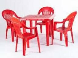 Б/у пластиковую мебель (можно лом)