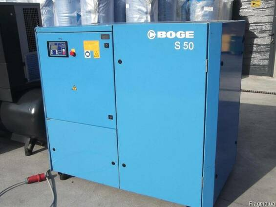 Б/у винтовой компрессор Boge S50