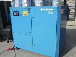 Б/у винтовой компрессор Boge S50 - фото 1