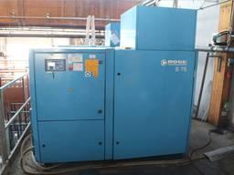 Б/У винтовой компрессор Boge S75-3 - на 55 кВт (Днепр)