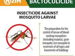 Bactoculicide - insecticide against the larvae of mosquitos