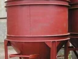 Бадья и бункер раствороприемные - фото 4