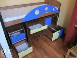 Багатофункційне ліжко для малюків - фото 2