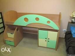 Багатофункційне ліжко для малюків - фото 4