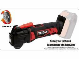 Багатофункційний інструмент акумуляторний YATO Li-Ion 18 В 18000 об/хв (без акумулятора. ..