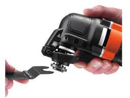 Багатофункційний інструмент Black+Decker 280 Вт 22000 об/хв + насадки + сумка