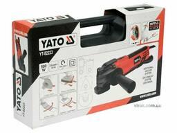 Багатофункційний інструмент YATO 500 Вт 16000 об/хв + насадки + кейс