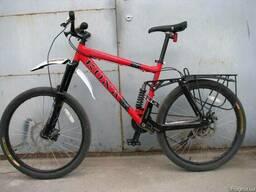 Багажник на велосипед с дисковыми тормозами