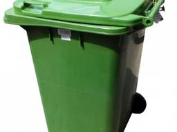 Бак для мусора Контейнер мусорный объем 120 литров пластик