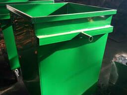 """Бак для мусора """"Универсальный"""" на колесах 0,7 м. куб. .. ."""