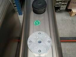Бак гидравлический закабинный 160 л алюминиевый (41х31х145)