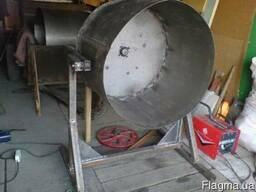 Бак / ёмкость бетономешалки без верхнего купола.