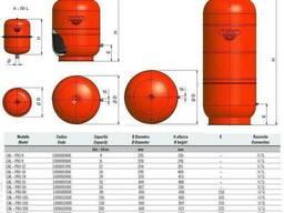 Бак Zilmet cal-pro для систем отопления 600 л 6bar круглый