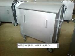 Баки для бытового мусора Евро контейнера 1,1 м. к.