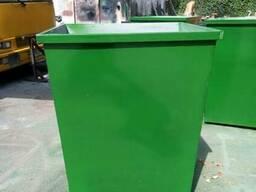 Баки мусорные 0,75 м. куб. с доставкой по Украине - фото 3