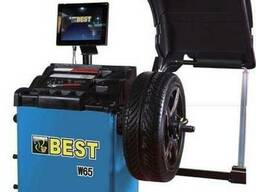 Балансировочный станок Best W65, ЖК экран, автоматический.