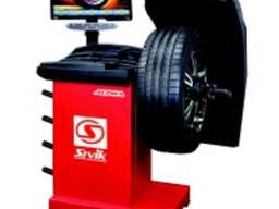 Балансировочный станок для легковых колёс