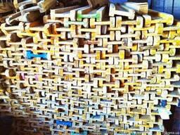 Балка деревянная двутавровая б/у для опалубки