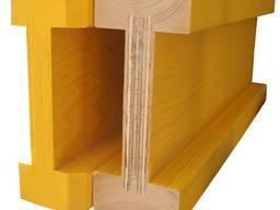 Двутавровая деревянная балка опалубки Н 20