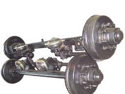 Балка ( ось) передняя 2ПТС-4