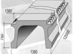 Балка прогонових будов Б- 1200КД1-АIII, Б - 1200ПД1-АIII
