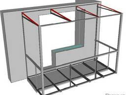 Балкон под ключ, расширение балкона, стройка балкона