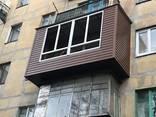 Балкон под ключ !! Расширение , Утепление . Обшивка Лоджии Балконов ! - фото 2