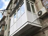 Балкон под ключ !! Расширение , Утепление . Обшивка Лоджии Балконов ! - фото 4