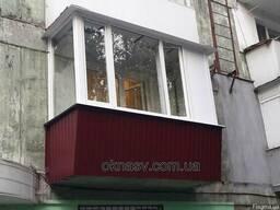 Балкон под ключ. Вынос. Расширить. Ремонт балкона.