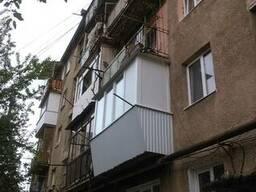 Балкон з виносом від перил