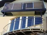 Балконные ограждения - фото 1