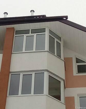 Балкони, лоджії, обшивка, утеплення, зварювальні роботи.