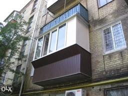 Балконы, обшивка