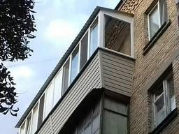 Балконы под ключ. Утепление, вынос. Внутренняя отделка