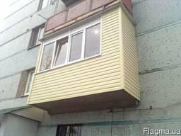 Балконы под ключ, лоджии,решетки.