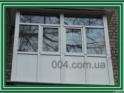 Балконы ремонт под ключ. Отделка. Обшивка. Вынос. Остекление