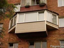 Окна и балконы под ключ! Металлопластиковые окна, двери.