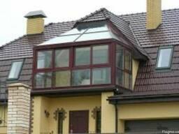 Балконы в Коттеджах Цена/Купить Балкон Установить